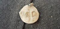 Superb lead seal found in England L58w