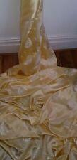 1 MrEd oro coloureddesign chino Brocade Fabric de 45 pulgadas de ancho
