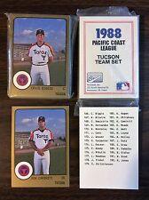 1988 Pro Cards TUCSON Complete UNOPEN Team Set - CRAIG BIGGIO, RC L12017327