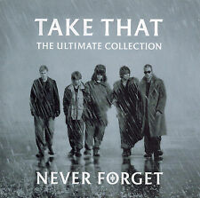 TAKE THAT - NEVER FORGET: THE ULTIMATE COLLECTION -  CD (2005) 19 TRACKS