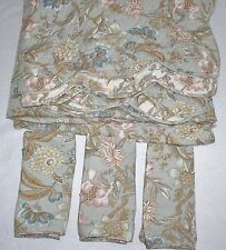 Charter Club Luxury ~Hand Quilted~ King  Quilt & 3 Euro Shams Jacobean Floral