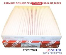 NEW Toyota & Lexus Genuine OEM A/C CABIN AIR FILTER 87139-YZZ20