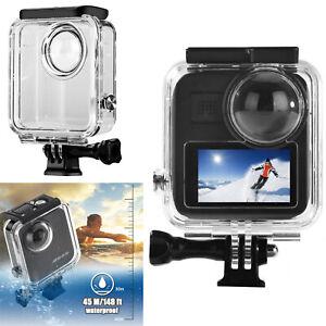 Für GoPro Max 360 Panoramic Kamera 45m Unterwassergehäuse Housing Shell Cover