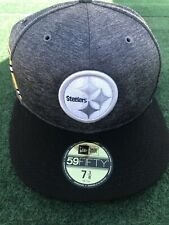Pittsburgh Steelers New Era  NFL Sideline Home 59FIFTY Fitted Hat - Black