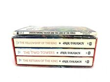 LORD OF THE RINGS LOT TOLKIEN TRILOGY BOX SET 3 BOOK LOT VINTAGE FIRST PRINT?