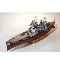"83CM 33"" Prince Of Wales Battleship Warship 3D Paper Model DIY Toy Ship UK"