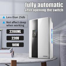 UK 220V Portable Home Dehumidifier Mute Moisture Absorption Dryer Air Purifier