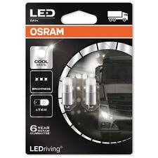 OSRAM LED Cool White 233 24V T4W 249 Nmuber Plate Festoon Interior Retrofit Bulb