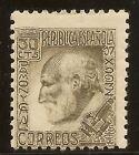 Edifil 680* Mh 30 Céntimos Castaño Santiago Ramón y Cajal 1934 NL365
