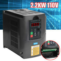 AC110V 2.2KW Variable Frequency Drive Inverter Vector Motor Speed Control Filter