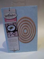 SPELLBINDERS NESTABILITIES CLASSIC OVAL LG (5 DIES) S4-110 BNIP