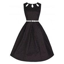 Gepunktete Damenkleider in Größe 38