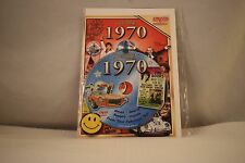 Flickback Greeting or Birthday Card With DVD  For Those Born in 1970    (v417)