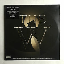 WU-TAN-CLAN - THE W * LP VINYL * FREE P&P UK * EPIC-EPC 499576  * ORIGINAL *