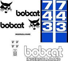 743 d Replacement decals decal kit / sticker set skid loader steer fits bobcat