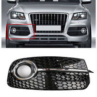 Right SQ5 Style Fog Light Grill Grille For AUDI Q5 13-17 Don't Fit SQ5 &SLINE BU