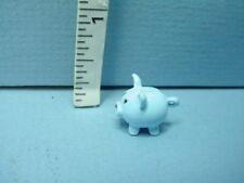 HB457 Dollhouse Miniature Blue /& Amber Glass Urn