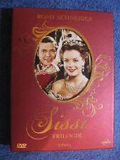 3 DVD Video Box Sissi Trilogie, 3 DVD (2007) Romy Schneider + 3 Karten Böhm