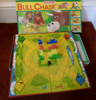 Vintage Bull Chase Board Game: Waddingtons : Parts Complete: See Listing