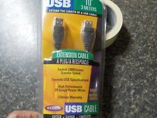 Belkin USB extension cable 10' Fastest 12MBits/sec  Window/Mac P42361