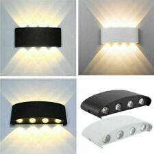 8W 24W LED Wandleuchte Außen Lampe Up Down Licht für außen/innen IP65 Aluminium