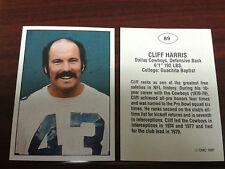 CLIFF HARRIS 1987 TCMA UPDATE card #89 - SCARCE!! DALLAS COWBOYS