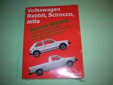 VW Mk1 Jetta 80-84  Bentley Dealer Repair Manual NEW