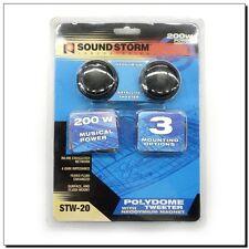 Sound Storm Laboratories Polydome Tweeter with Neodymium Magnet 200 Watts Peak