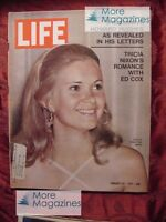 LIFE January 22 1971 Jan 1/22/71 TRICIA NIXON HOWARD HUGHES NATALIA MAKAROVA +++