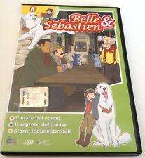BELLE & SEBASTIEN VOL.6 (3 EPISODI) DVD CARTONI ANIMATI OTTIMO ITALIANO