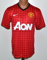 MANCHESTER UNITED 2012/2013 HOME FOOTBALL SHIRT JERSEY NIKE SIZE S ADULT
