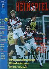Programm BL 1995/96 SC Freiburg - Borussia Dortmund