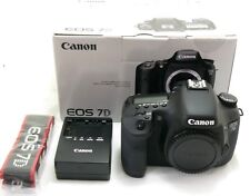 Canon EOS 7D body, c.400 actuations, boxed MINT