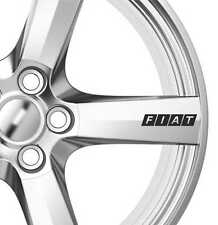 8 x Fiat Alloy Wheels Decals Stickers Adhesives Bravo Multipla