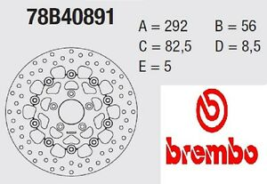 Disque Frein Brembo Série Or Avant 1200 XL L Sportster Low 07>13