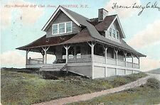c.1910 Marshfield Golf Club House Kingston NY post card Ulster county