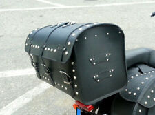 YAMAHA XVS1100 VSTAR CLASIC/CUSTOM LEATHER REAR SISSY BAR BAG TOP CASE SADDLEBAG