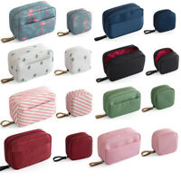 Mini Cactus Flamingo Travel Toiletry Storage Cosmetic Bag Makeup Bag Organizer