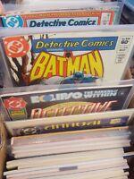 detective comics Batman Comic Lot of 193 502-700 annuals 1-9 mostly vf+