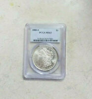 1880 S Morgan Silver Dollar PCGS MS63 RARE Ultimate Looks PL Fields Grade Coin