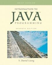 Introduction to Java Programming, Brief Version (7th Edition) Shrinkwrapped