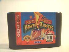 Mighty Morphin Power Rangers (Sega Genesis, 1994)  game only
