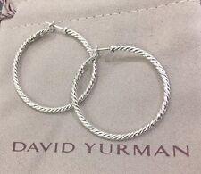 David Yurman Cable Classic Hoop Earrings