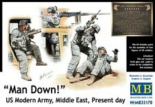 MASTER BOX  1/35 Man Down! US Modern Army Middle East (4)  MBL35170