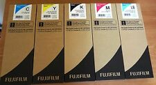5 Genuine FujiFilm High Quality Frontier DL600 ink Carts 700 ml Exp. 2020
