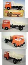 Plasticart Tipper Truck Intertrans Muldenkipper mit weißer Mulde OVP #2068