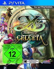 Y ` J - Mémoires of Celceta PSV Playstation Vita Psvita Neuf + EMBALLAGE