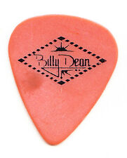 Billy Dean Orange Guitar Pick - 1990s Tours