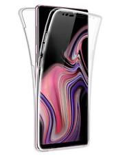 For Samsung Galaxy S10 Plus Front & Back 360° Silicone Gel Clear Dual Case Cover