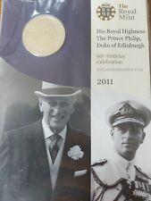 More details for royal mint prince philip duke of edinburgh 90th birthday 2011 bu £5 coin, sealed